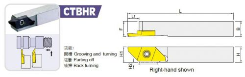 CTBHR Small Tool, Turning Tools For Automatic Lathes