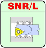 SNR/L Internal Threading Boring Bars