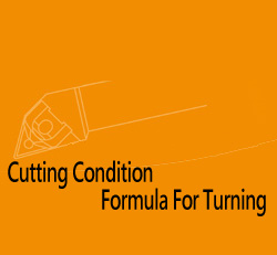 Cutting condition Formula for Turning