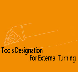 Tools Designation For External Turning